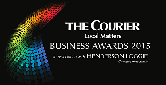 courier business award logo